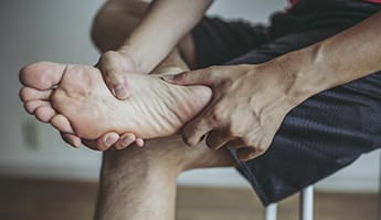 discover the symptoms of osteoarthritis of the feet and ankles
