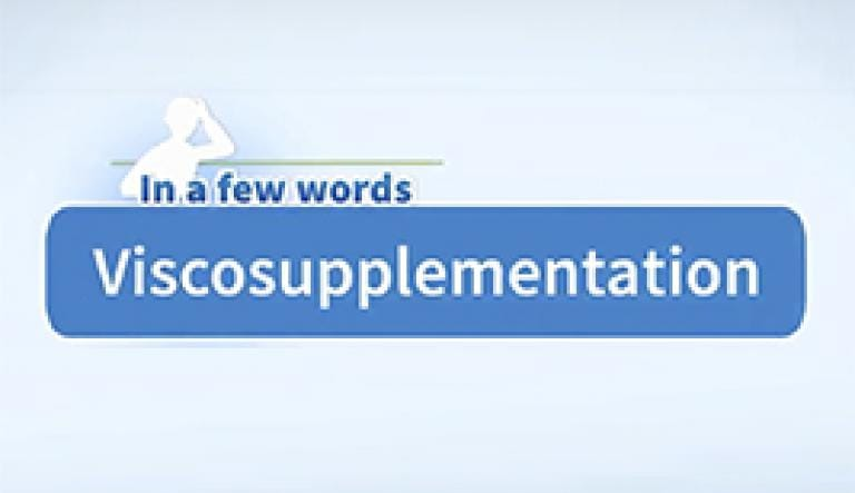 a video about viscosupplementation